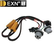 load resistors for led lights 2pcs 7443 led brake lights singal load resistor led bulb fast hyper