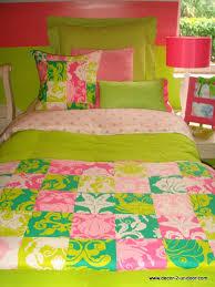 custom dorm bedding sets featuring lilly pulitzer fabrics decor