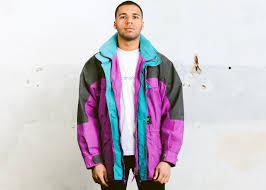 vintage ski jacket 90s parka jacket freestyle jacket oversized