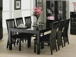 Dining Room The Best Design Of Black Lacquer Dining Room Chairs - Black lacquer dining room set