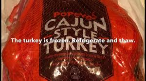 popeyes cajun style turkey review