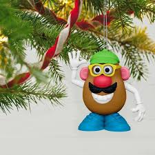 hasbro mr potato ornament keepsake ornaments hallmark
