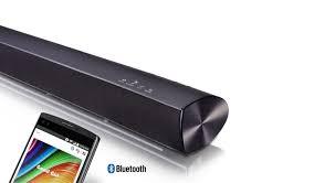rca home theater sound bar lg sh2 100w 2 1ch sound bar with bluetooth connectivity lg usa