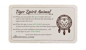 tiger meaning and symbolism all totems spirit meanings