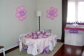 simple birthday decoration at home interior design simple princess themed birthday party