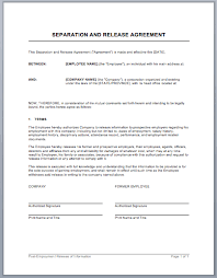 separation agreement form ny free best resumes curiculum vitae