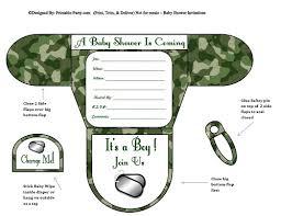 camo baby shower invitations boy baby shower invitations printable shaped invites