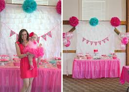 1st birthday party pink ombre birthday party pretty my party