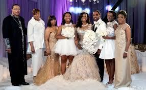 porsha williams wedding see kandi s fabulous wedding album kandi burruss