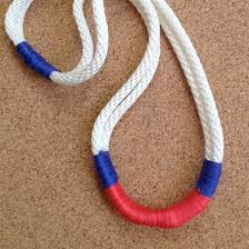 diy necklace with rope images Braided rope necklace crafthubs jpg