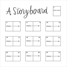 best 25 storyboard template ideas on pinterest storyboard