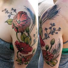 45 best floral tattoos images on pinterest beautiful california
