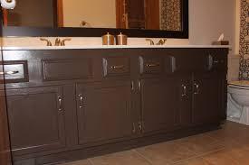 painted bathroom cabinet ideas bathroom cabinets painted brown ideas