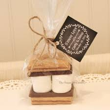 wedding tags for favors smore wedding favors personalized wedding favors s mores kits s
