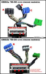 92 00 honda engine swap wiring guide vtec and non vtec honda