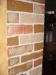 Brick Texture Paint - disasterous home project saved create faux textured brick