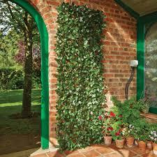 buy artificial laurel leaf trellis delivery by waitrose garden in