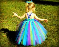 peacock halloween costumes for kids diy no sew tutu for little girls tutu girls and tutu tutorial