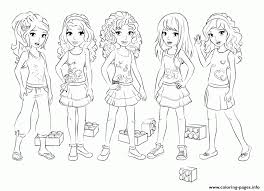 lego girl coloring page lego friends girls coloring pages printable