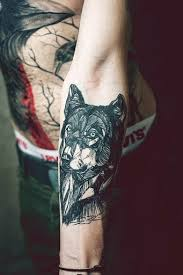 Forearm Wolf - wolf images designs