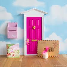 Fairy Door by Bright Pink Fairy Door The Fairy Nice Trading Company