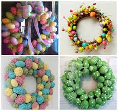 how to make easter wreaths diy easter egg wreath find projects to do at home and