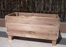 Modern Wood Planter by Planter Box Diy Modern Wood Planter Surprising Diy Planter Box