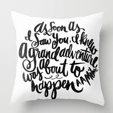 white and black pillows with sayings modern minimalist style