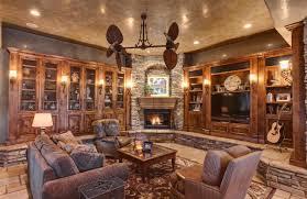 inspiring interior designs focused on corner fireplaces
