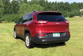 red jeep cherokee 2015 jeep cherokee latitude offers off road capability in a comfy