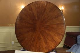 table licious expandable round walnut dining table formal