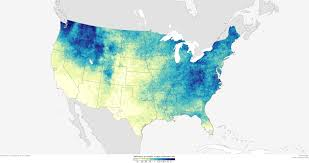 United States Climate Map by Heavy Downpours More Intense Frequent In A Warmer World Noaa