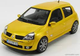 renault clio sport 2004 otto mobile ot552 scale 1 18 renault clio rs phase 3 2004 sirius