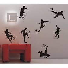 stickers garcon chambre aiwall ballon de football football stickers muraux maison