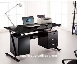 Buy Glass Computer Desk Office Computer Table Steel Furniture Info Innovative Steel
