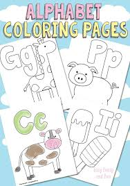 easy peasy coloring page free printable alphabet coloring pages printable alphabet easy