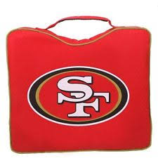 san francisco 49ers nfl seat cushions ebay