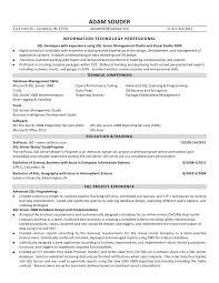 etl developer resume sql ssis ssrs developer resume
