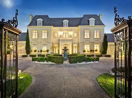 chateau style chateau style home chateau style gated mansion in