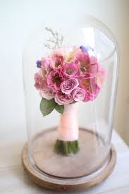 flower preservation beauty the beast inspired preserved wedding bouquet by camila v