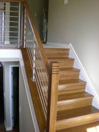 metal landing banister and railing railings