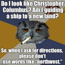 Art Owl Meme - art student owl memes imgflip