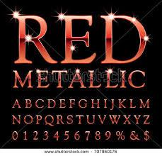 metal alphabet screws stock vector 114930514 shutterstock