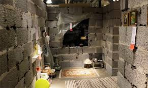 ikea syrian refugees syrian home built inside ikea store shows the awful conditions of