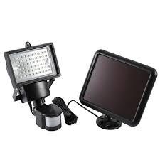 led solar security light solar powered motion sensor light 60 led solar security light flood