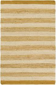 Yellow Striped Rug White And Gold Striped Rug Creative Rugs Decoration