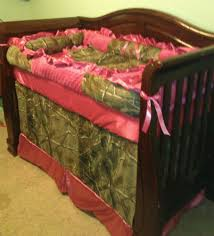 Pink Camo Crib Bedding Set by Most Attractive Colors Camo Baby Bedding All Modern Home Designs