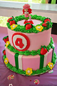 strawberry shortcake decorated cakes decoration ideas cheap
