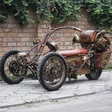 ideas about Steampunk Motorcycle on Pinterest   Custom