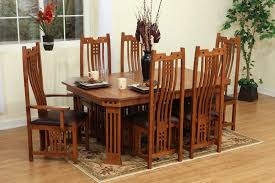 mission style dining room set mission style rocking chair giving comfy design simplify your
